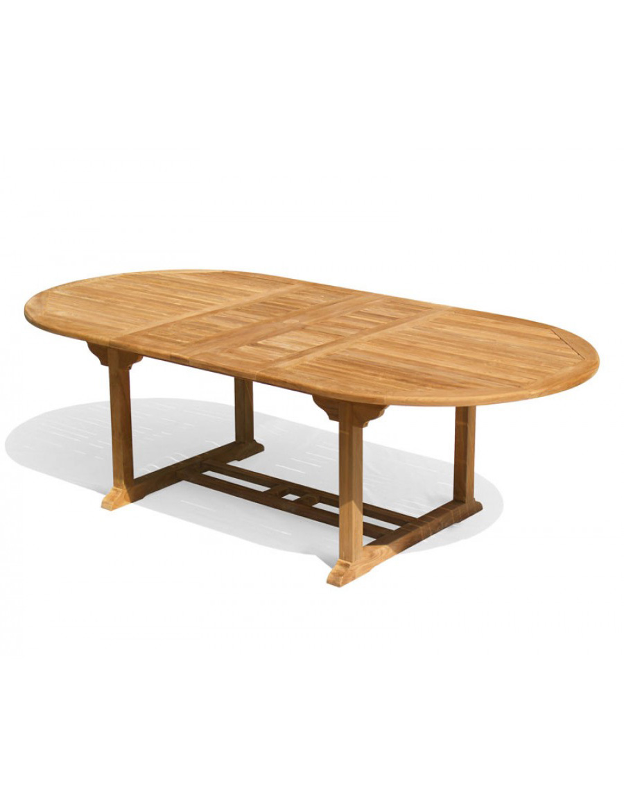 Teak Oval Extension Dining Table Dining Tables - Teak oval extension dining table